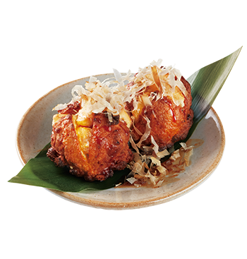 Fried Fish Ball Stuffed with Cheese